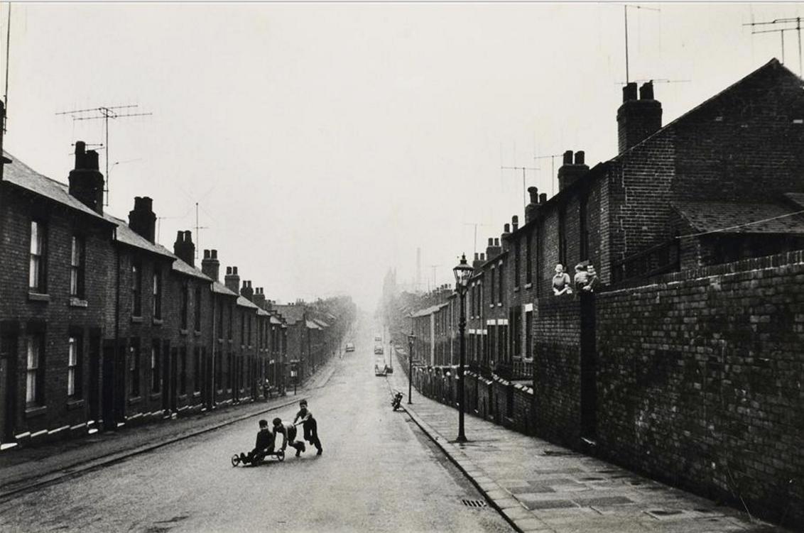1961. На улице, Барнгрив, Шеффилд