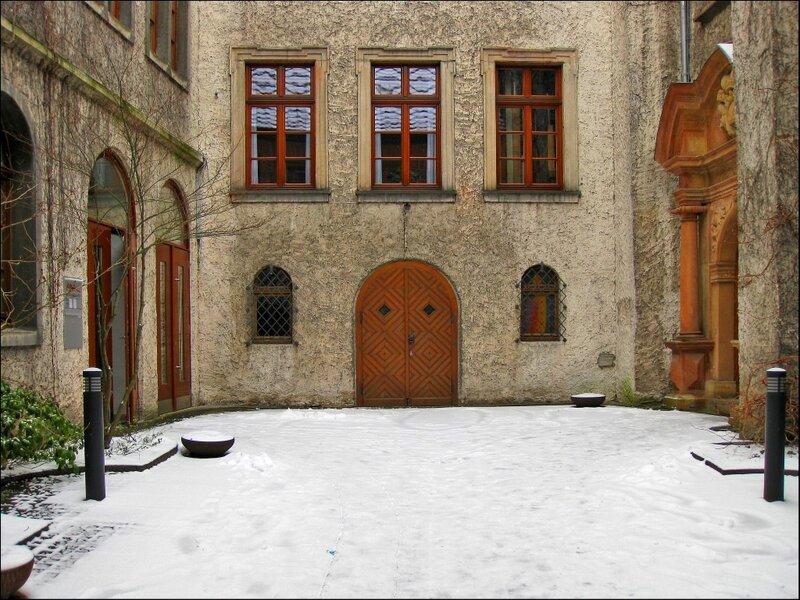 Во дворе старого монастыря, Падерборн