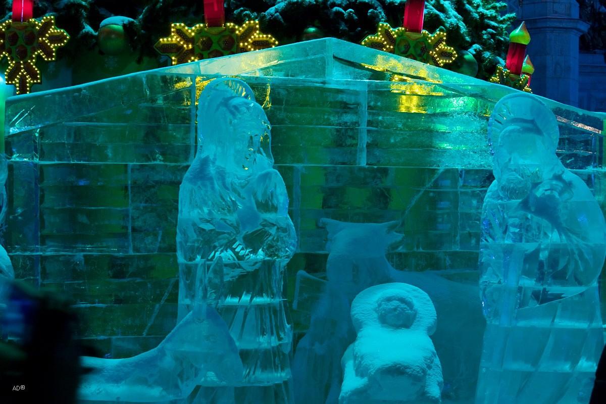 Ночная зимняя Москва