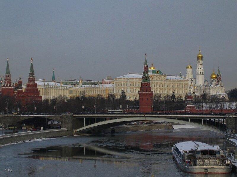 москва 27.01.2007 с того же моста, Патриаршего