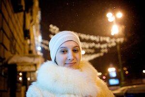 Таким нас встретил весенний морозный Киев