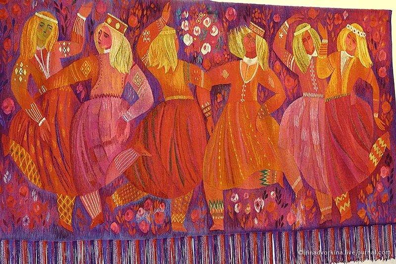 Р. Хеймратс. «Праздничный танец» (1973–75). ГМЗ «Царицыно».