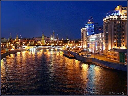 Вид на Кремль с Патриаршего моста