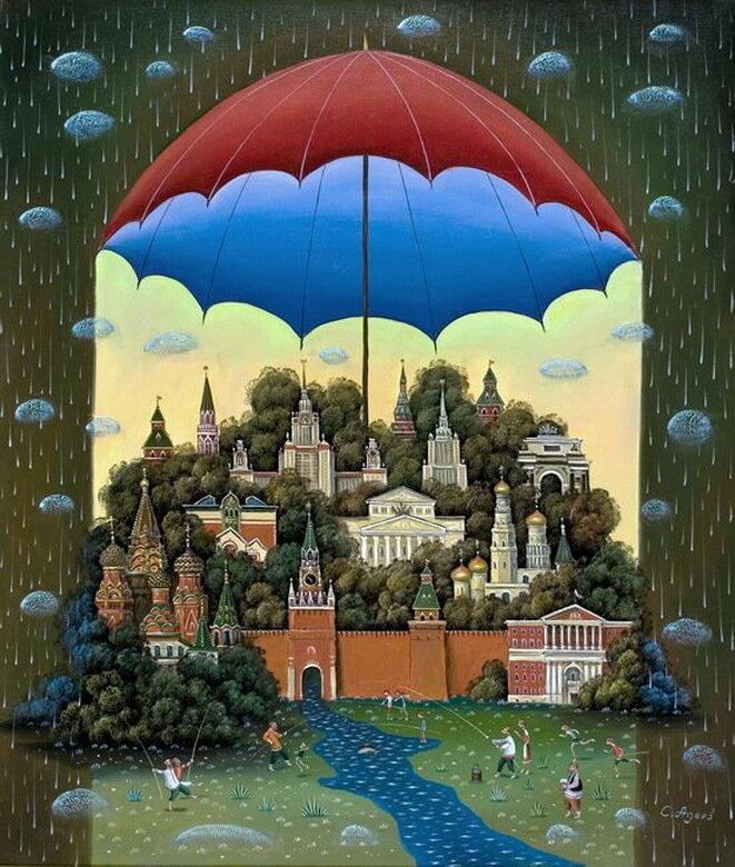 Работы художника Сергея Авдеева