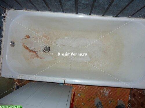 Эмалировка ванн г. Москва, 3й просп. Новогиреево - 07 - Счищено