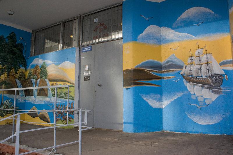 Граффити - подъезд