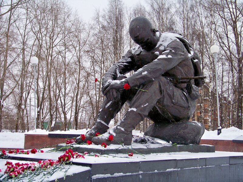Памятник Скорбящий войн