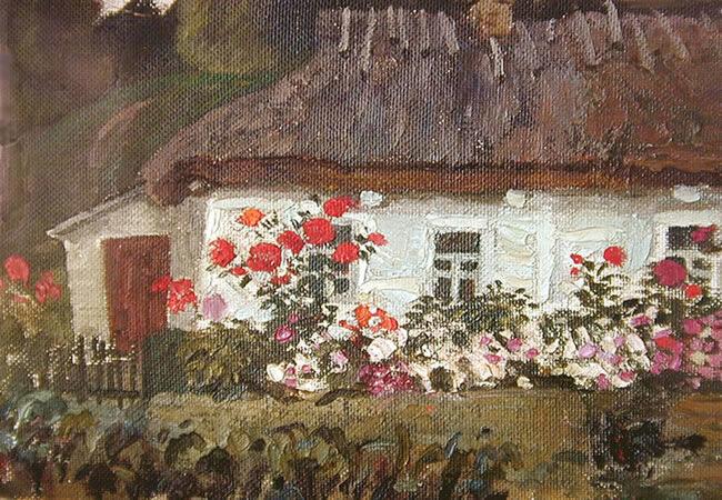 A Little Cottage in UkraineUp