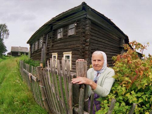 Бабушка Евстолия