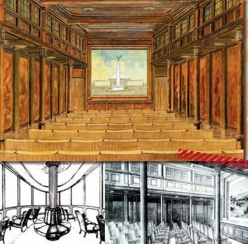 Вагон-кинотеатр и обзорный зал конечного вагона