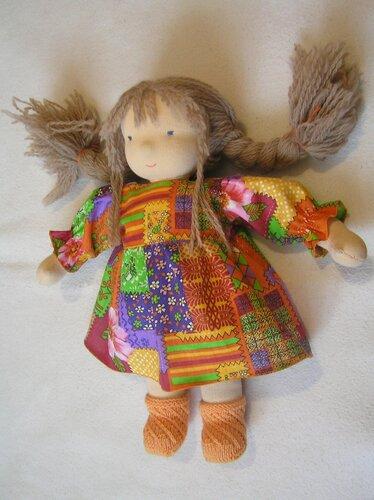 Кукла из материала
