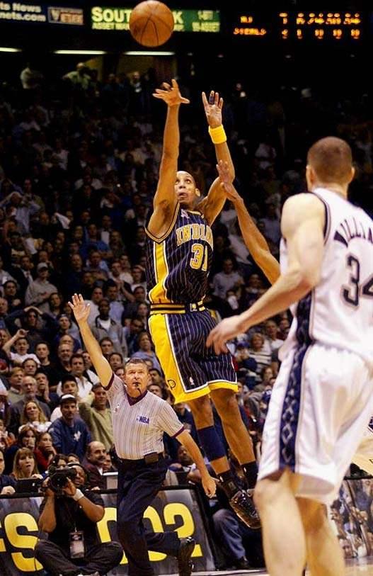 2000s Top 10 NBA Games - Nets - Pacers 120-109 (2 OT) / 5-я игра 1-го раунда плей-офф 2002
