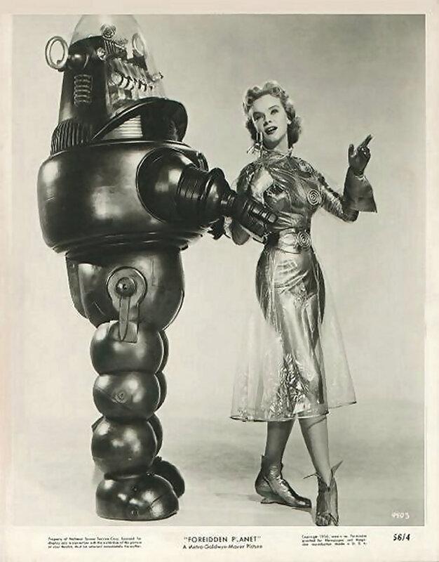 "ретро фото,1956 ""Forbidden Planet"""