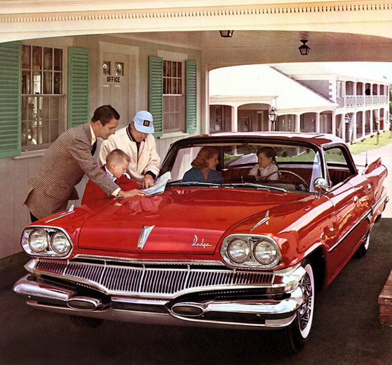 ретро фото,1960- Dodge
