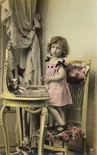 Винтажные фотографии детей
