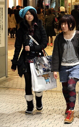 Japanese Girls and Their Fashion (36 pics) .