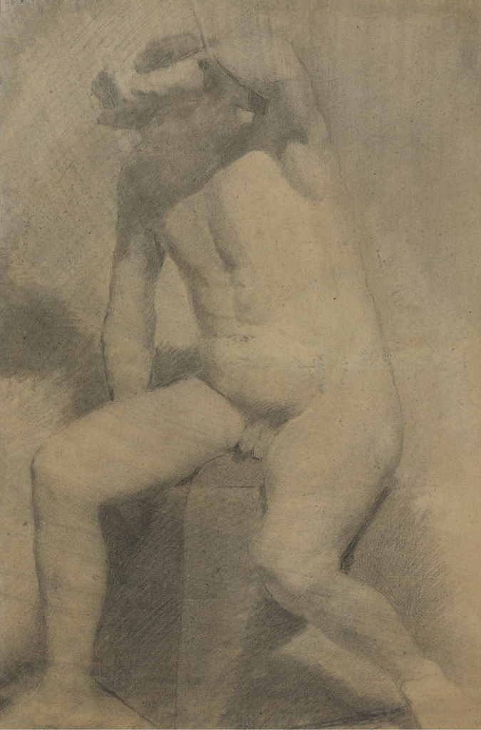 Eakins_-_Nude_man_seated.png ок. 1869.png