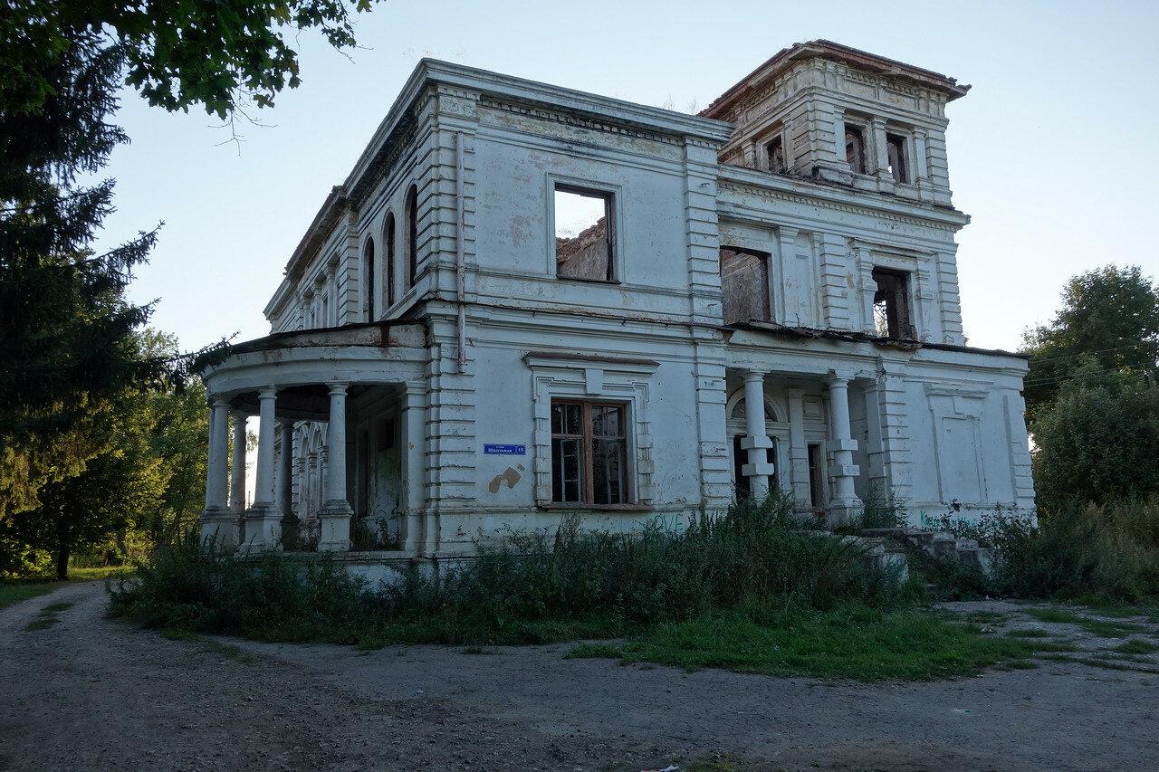 остатки имения-усадьбы Урусова