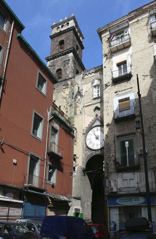Неаполь. Церковь Святого Элиджио (Chiesa di Sant'Eligio Maggiore)