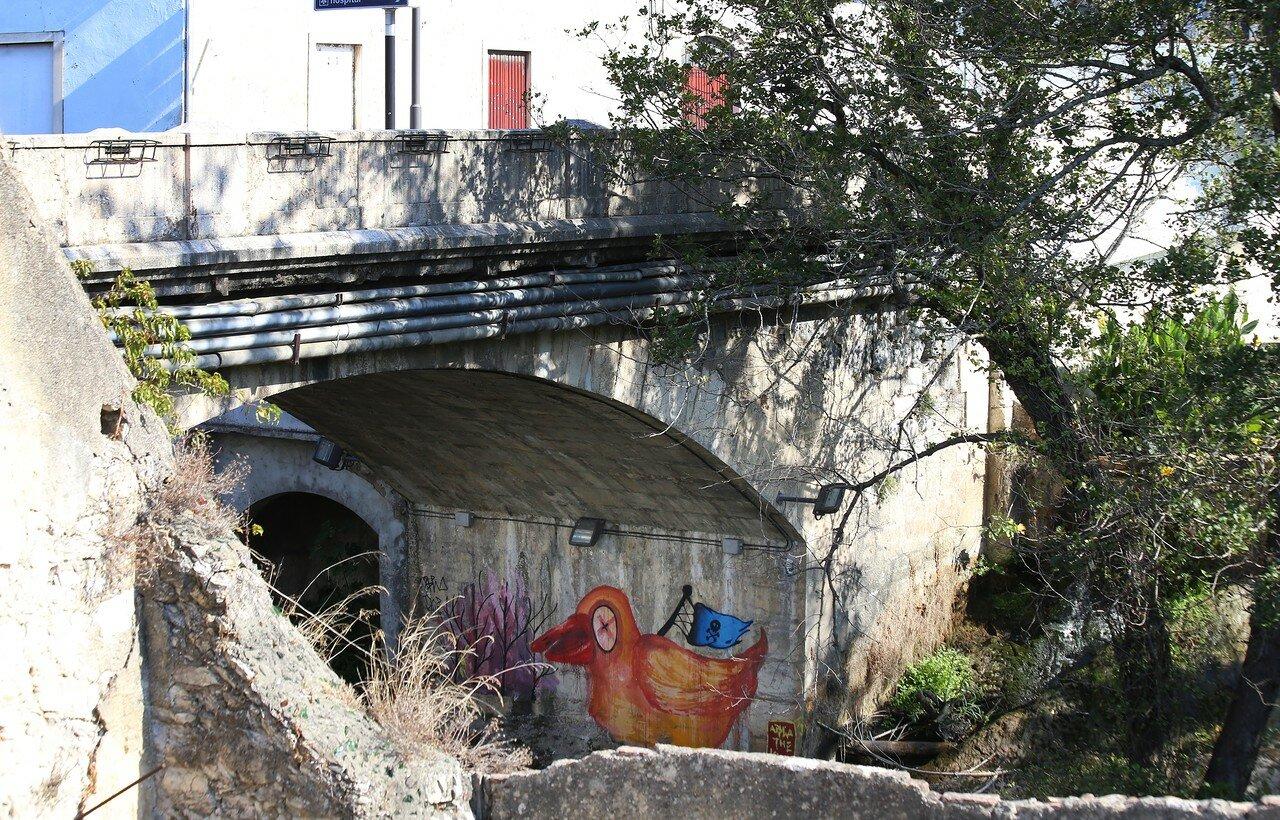 Лейрия. Мост Хинце Рибейру (Ponte Hintze Ribeiro)
