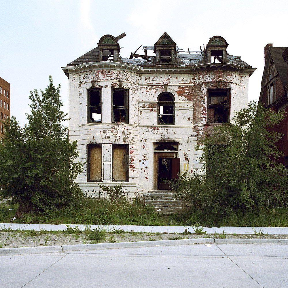 Заброшенные дома в Детройте (40 фото)