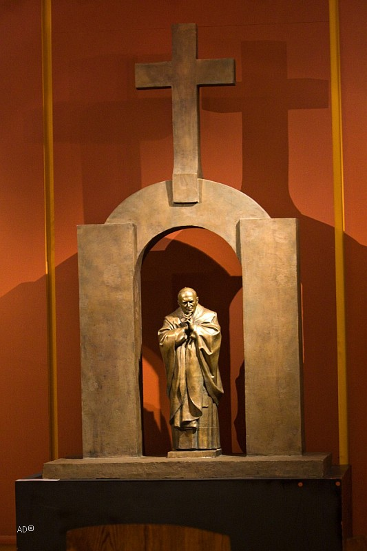 Зураб Церетели. 2006 Иоанн Павел II. Плоэрмель