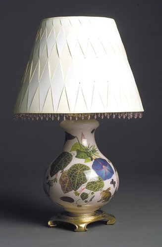 настольные лампы хендмейд