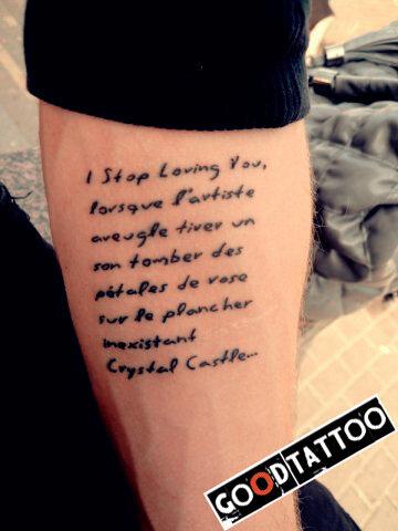 Клёвые татуировки надписи на руке