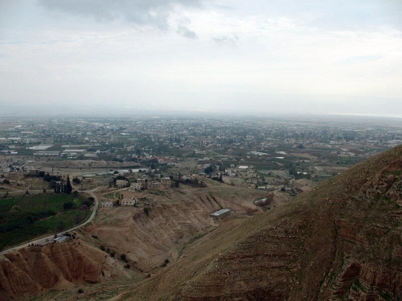 Святая Земля,иудейская пустыня,сорокодневная гора искушений