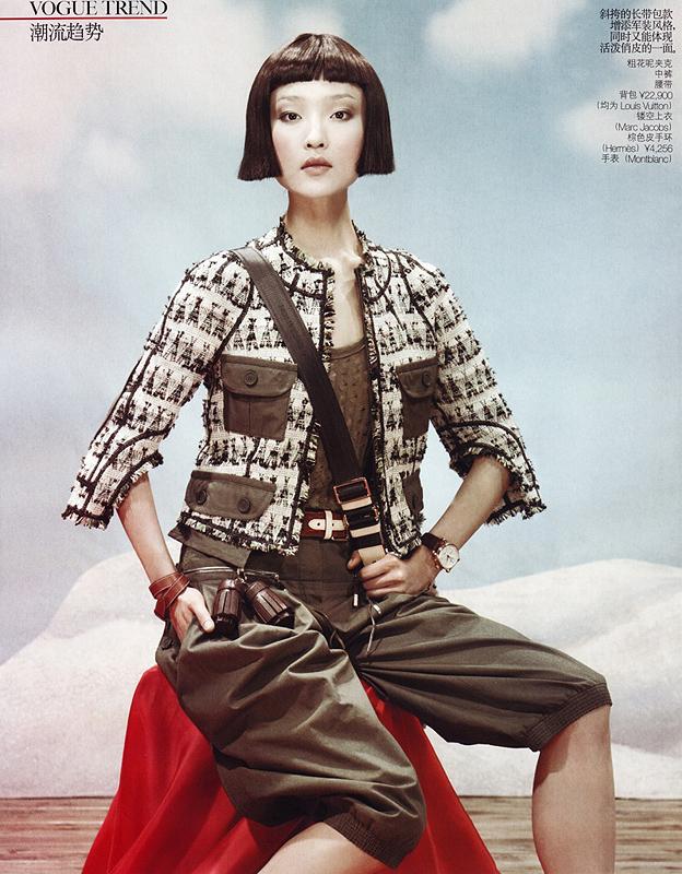 фотомодель фотографы модели мода fashion story fashion  Du Juan или революция по китайски