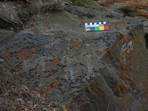 Чукотка-надписи на скалах
