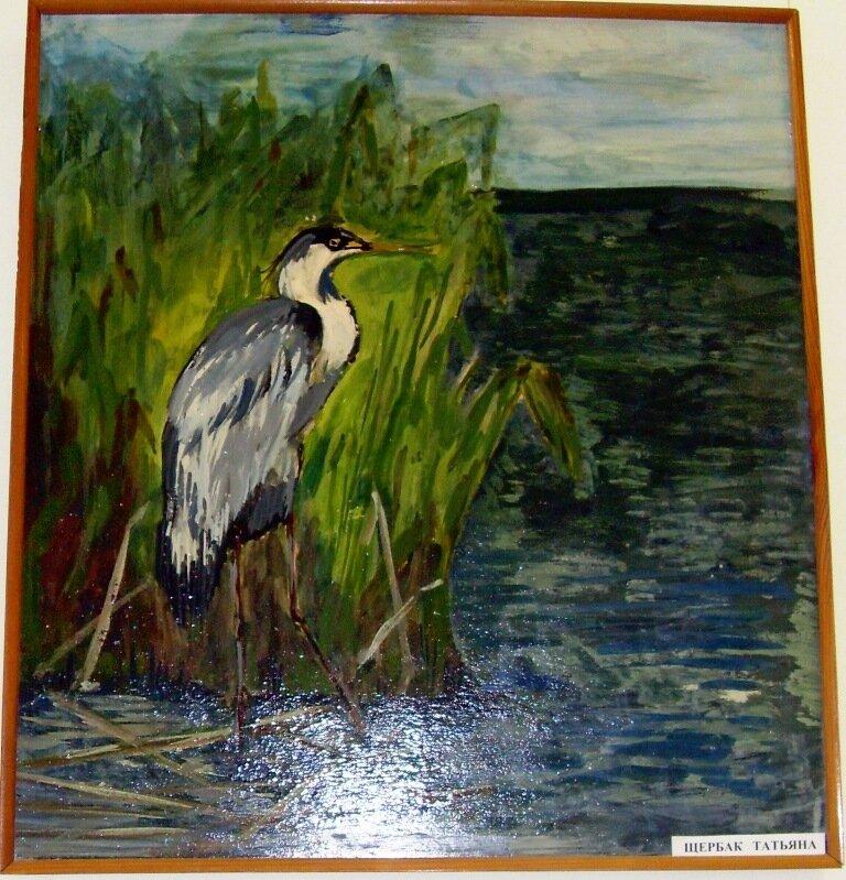 Картины юных ахтарских художников (2)