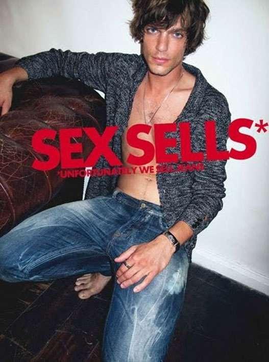 Diesel – Sex Sells … Unfortunately We Sell Jeans / Секс хорошо продается...