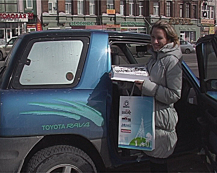 Шансон-Владивосток дарит подарки