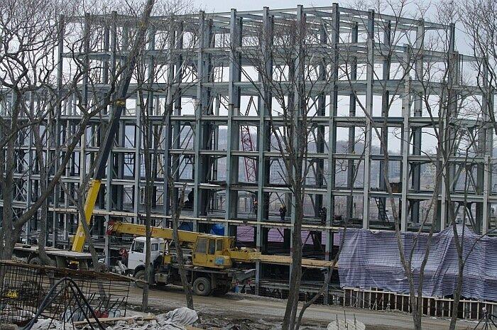 объекты Саммита АТЭС 2012 Владивосток о.Русский ДВФУ