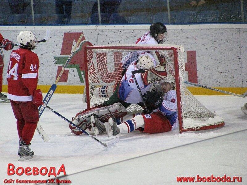 Фото с матча МХК Витязь(Подольск) - Сборная Москвы.