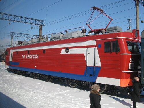 прибытие в Хабаровск поезда №109 сообщением Владивосток - Хабаровск