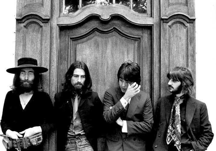 "Последнеесовместное фото ""Beatles "" 22 августа,1969г"