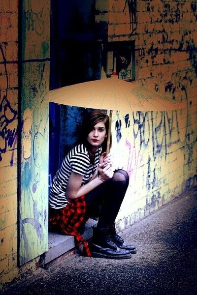 фотограф Trixy Pixie, модель Kahlia