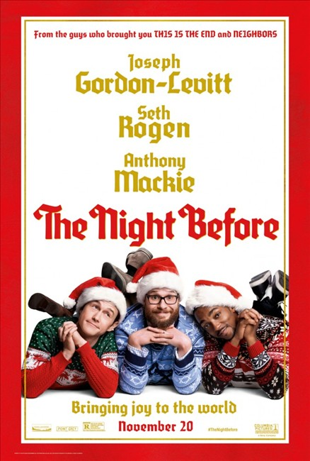 ����� ��������� / The Night Before (2015)