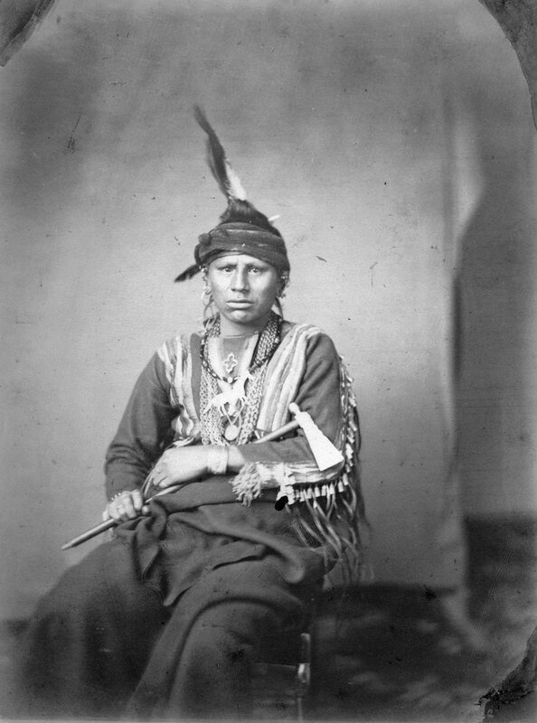 Ki-wi-i-ku, Buffalo Bull, Grand Pawnee Warrior, 1858 or 1859