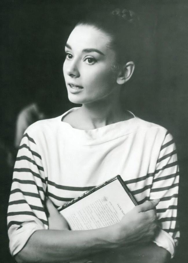 На студии Синечитта в Риме. Август 1955 г.