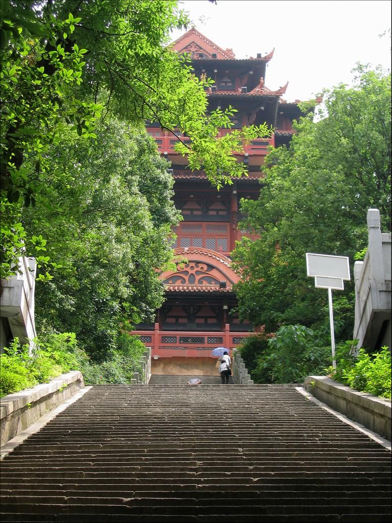 Лестница к башне, Ухань