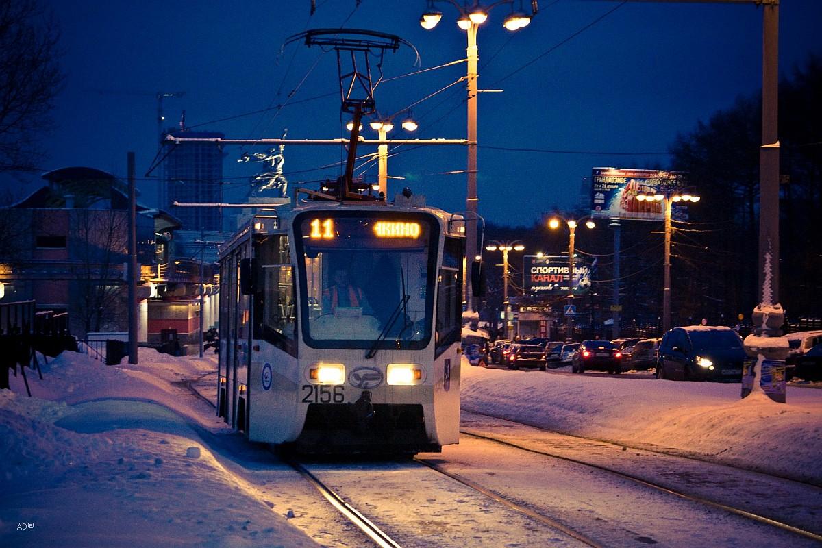 Трамвай № 11 в Москве