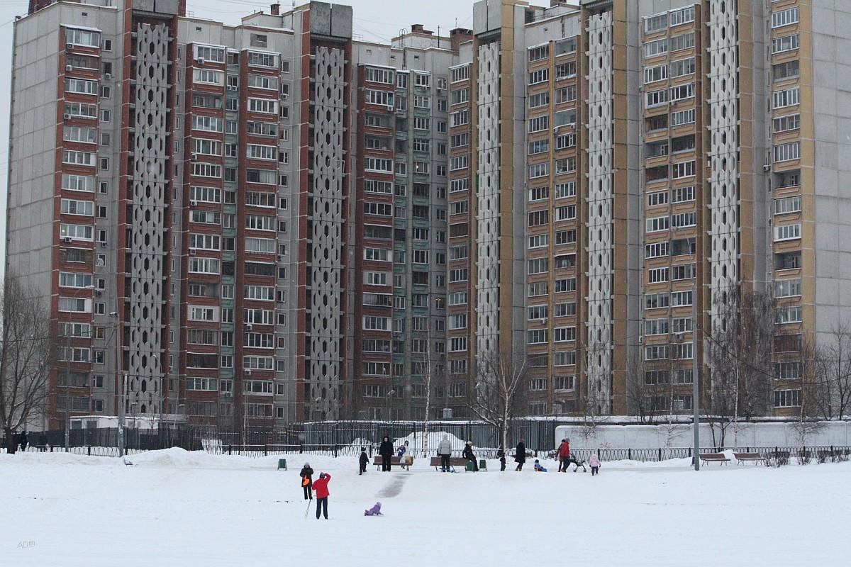 Семнадцатиэтажный жилой дом. Количество квартир: 343