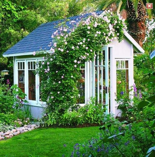 дачный домик сад своими урками интерьер дачного домика