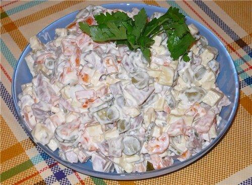Салаты зимние рецепты с фото