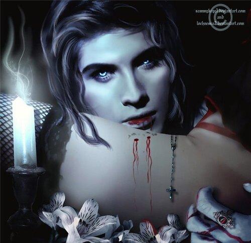 Сексуальное видео готических и обнажённых вампирш, жаждущих чувственного наслаждения
