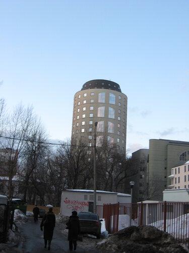 цилиндрическое здание