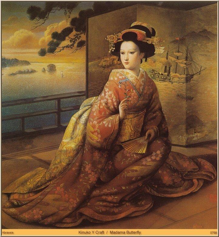 Иллюстрации американской художницы Кинуко Крафт:фото из Интернета